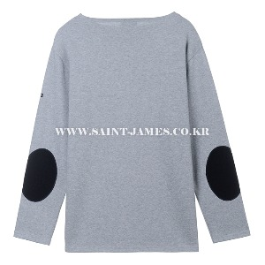 세인트제임스 웨쌍 무지 도트패치 Gris/ SAINTJAMES OUESSANG Guildo U Dot Patch Gris